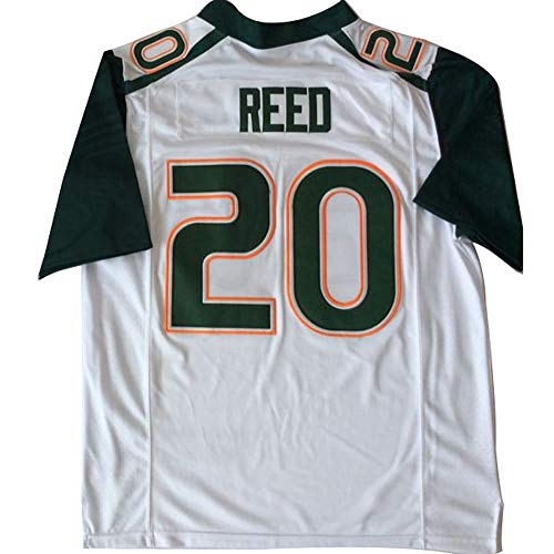Men's Miami Hurricanes #20 Ed Reed American Football Jerseys - Reed Jersey Ed