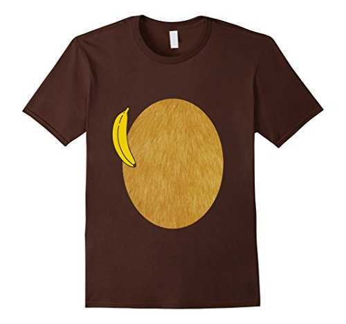 Easy Inexpensive Halloween Costumes For Adults (Mens Furry Monkey Halloween Costume Tee (kids and adults) 2XL Brown)