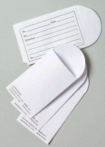 Graham-Field Health (a) Pill Envelopes Box Bx/1000 Printed