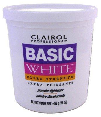 Clairol Basic White Extra Strength Powder Lightener - Clairol Basic White Lightener