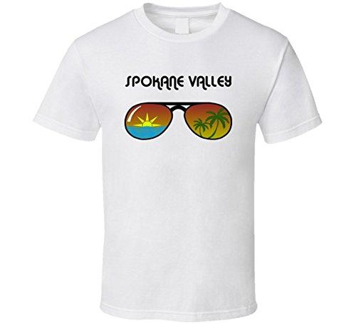 Spokane Valley Sunglasses Favorite City Fun In The Sun T Shirt XL - Sunglasses Spokane