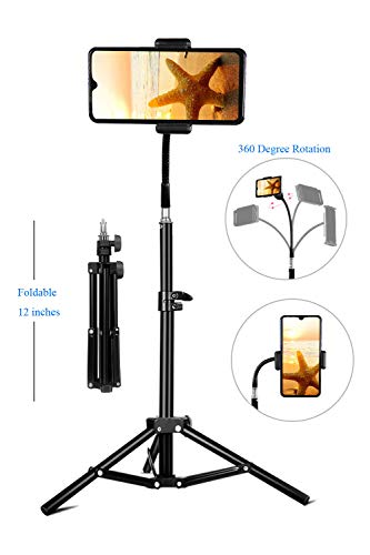 Phone Tripod, Pixel Flexible Cell Phone Tripod for Video Recording, Vlogging/Streaming/Photography, Smartphone Tripod Stand, Sturdy and Lightweight Stand, Compatible with Phone and Camera