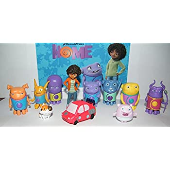 Dreamworks Home Movie Deluxe Party Favors Goody Bag Fillers Set Of 12 Figures With Earth Girl