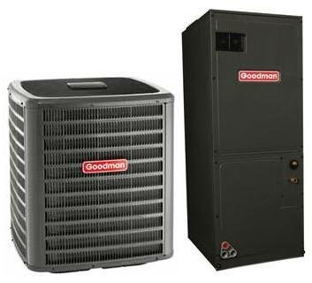 4 Ton Goodman 14.5 SEER R410A Variable Speed Air Conditioner Split System