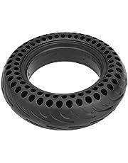 Pneu, roda de pneu à prova de perfuração de alta densidade material de borracha elástica para bicicleta de equilíbrio para scooter elétrico