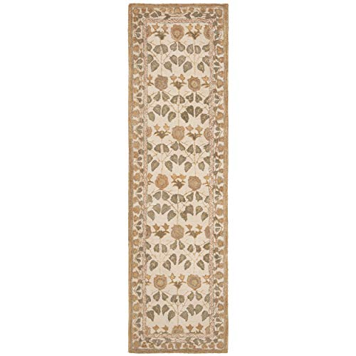 Safavieh Anatolia Collection AN542A Handmade Traditional Oriental Ivory Wool Runner (2'3