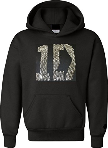 I Love 1D Shirt Hoodie Sweatshirt Jacket in Pink Adult and Youth Sizes