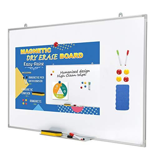 "Dry Erase Board/Magnetic Whiteboard 48 x 36 Inch-Ultra-Slim 36"" x 48"", White"