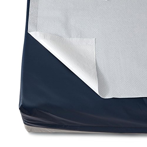 Medline NON24330A Disposable Flat Bed Sheets, White (Pack of 25)