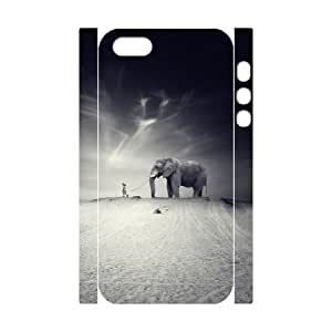 3D Bumper Plastic Customized Case Of Elephant for iPhone 6 4.7