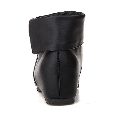 de goma negro black desgaste cara alta botas cortas Azul altura cuatro H de Gris resistente Rojo la resbalón la cremallera interior HLas las al Blanco mujeres de de estaciones de 39 doble 7xgq6Y