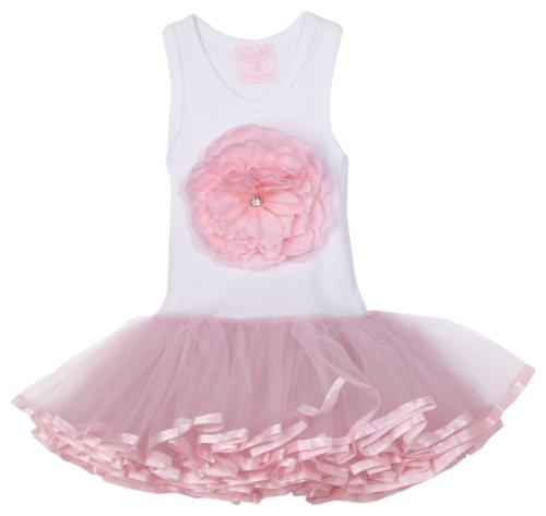Mud Pie Baby Buds Tutu Dress, Pink, 0 - 6 Months