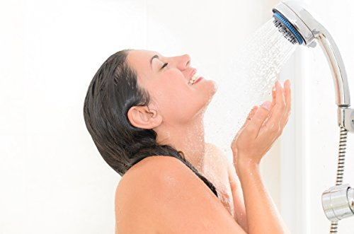 Hand Shower Head Handheld Shower-High Pressure With Bracket And Hose For Bathroom 8 Function Luxury Spa Chrome Adjustable Detachable Full Flow Massage Rain Waterfall For The Ultimate Shower Experience by Showerstorm (Image #4)