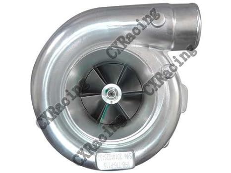 cxracing T76 1,15 a/R P Trim Cargador de Turbo T4 rodamiento de bolas