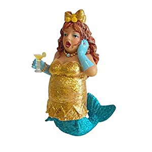 41N0edH%2BfQL._SS300_ 100+ Mermaid Christmas Ornaments