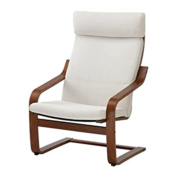 Superb Ikea Poang Chair Armchair With Cushion, Cover And Frame