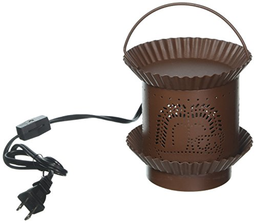 (Darice Candle Lamp Candle Warmer - Electric - Rusty)
