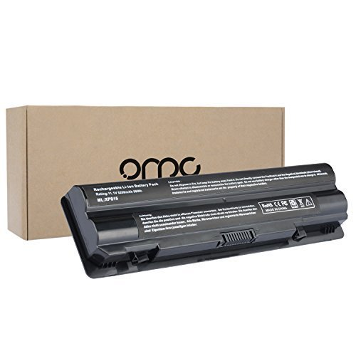 OMCreate Laptop Battery for Dell XPS 15 ( L502X L501X ) / XPS 14 (L401X) / XPS 17 (L701X), fits P/N:JWPHFJ70W7 R795X -12 Months Warranty (Dell Laptop Battery L502x)