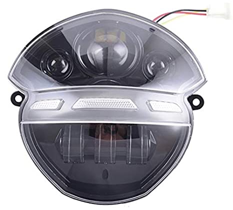 Amazon.com: Atoplite - Conjunto de faros delanteros LED para ...