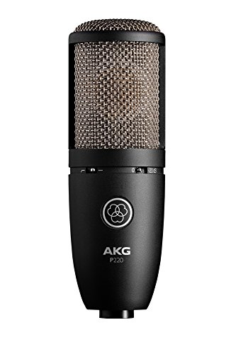 Akg Clip Mic - AKG P220 High-Performance Vocal Condenser Microphone