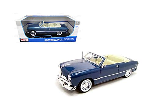 DIECAST MAISTO 1:18 Special Edition 1949 Ford Convertible (Dark Blue) 31682MBL by MAISTO ()