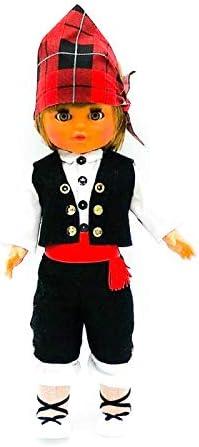 Amazon.es: Folk Artesanía Muñeco Regional colección de 35 cm con Vestido típico Aragonés (Baturro) Aragón España.: Juguetes y juegos
