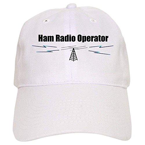 Ham Radio Operator Cap - Baseball Cap with Adjustable Closure, Unique Printed Baseball Hat