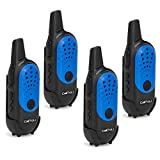 CallToU Kids Mini Walkie Talkie for Boys Girls Two Way Radio Camping/Hiking/Hunting Caregiver Pager for Elderly 16 Channels 4 Miles Rechargeable