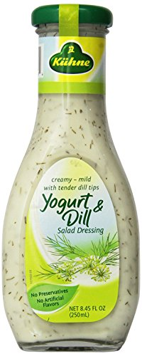 Kuhne Yogurt and Dill Salad Dressing, 8.45 Ounce (Pack of 8)