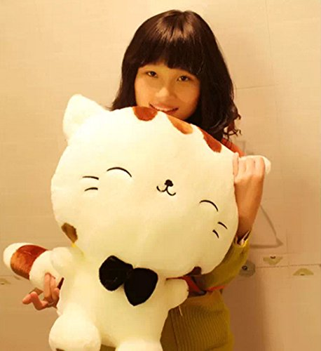 """Generic 15"""" Cute Cat Plush Girls' Soother Cuddle Pillow Xmas Christmas Bithday Valentine Gift"""