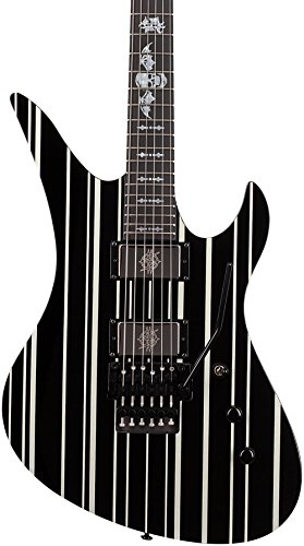 Synyster Gates Schecter Guitar (Schecter 1740 Synyster Custom, Black/Silver)