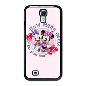 The best gift for Halloween and Christmas Samsung Galaxy S4 9500 Cell Phone Case Black The beautiful Disney Princess Minnie Mouse GON0307332