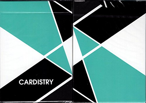 USPCC Cardistry Playing Cards Color & Turquoise (Turquoise)