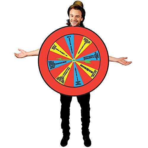 [Morphsuits Men's Morphcostume Co Wheel Of Misfortune Unisex Costume, Multi, One Size] (Man Of The Nights Watch Costume)