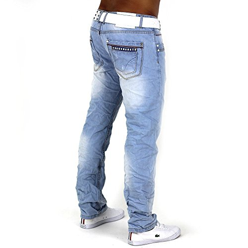 Jeans Vipro ID1032 pour hommes (jambe droite)