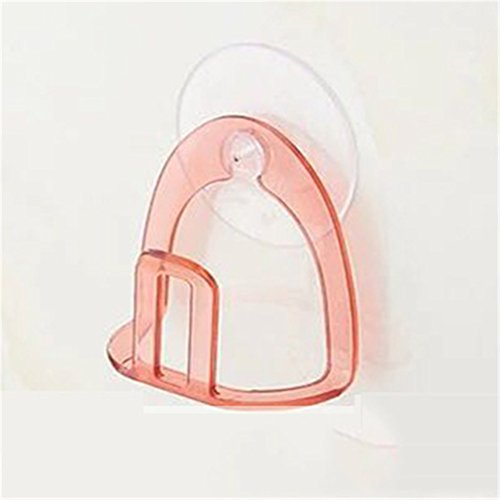 hook up Kitchen Sink Suction Holder Suction Cup Sponge Holder Kitchen Bathroom Drying Rack Toilet Pink by hook up
