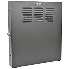The SRWF2U SmartRack 2U Low-Profile Vertical-Mount Switch-Depth Wall-Mount Rack Enclosure Cabinet is designed to house EIA-standard 19-inch rack equipment in network wiring closets, retail locations, classrooms, back offices and other areas w...
