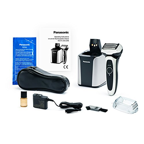 Panasonic and Trimmer ARC5, Wet/Dry 5 Blades and Head, Includes Premium Clean & Charge Station