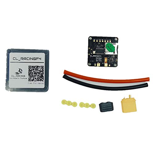 - Jammas CL Racing F4 Flight Controller with Betaflight OSD SD Card Slot Current Voltage Sensor PDB Buzzer Support DSHOT ESC STM32 AIO