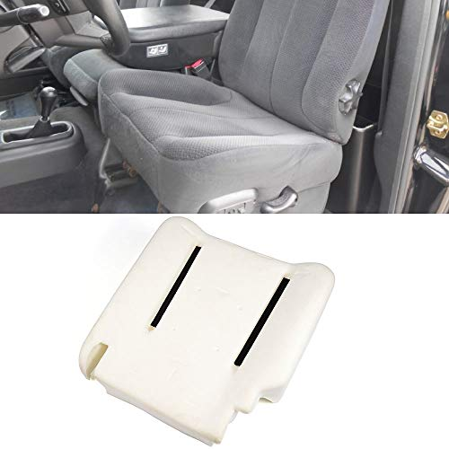 Cushion Pad Fits 2004-2005 Dodge Ram 1500 2500 3500 | Beige Factory Style Seat Bottom Cushion Pad Direct Replacement Driver Left Side by IKON MOTORSPORTS