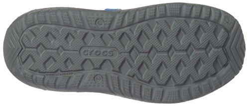 Crocs unisex-kids Swiftwater River Sandal Sandal, Slate Grey/Ocean, 2 M US Little Kid by Crocs (Image #3)