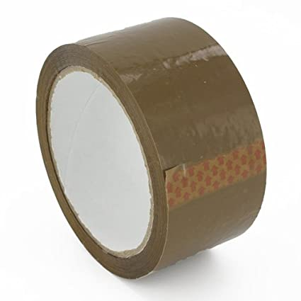 72 Rolls Brown Parcel Packing Tape