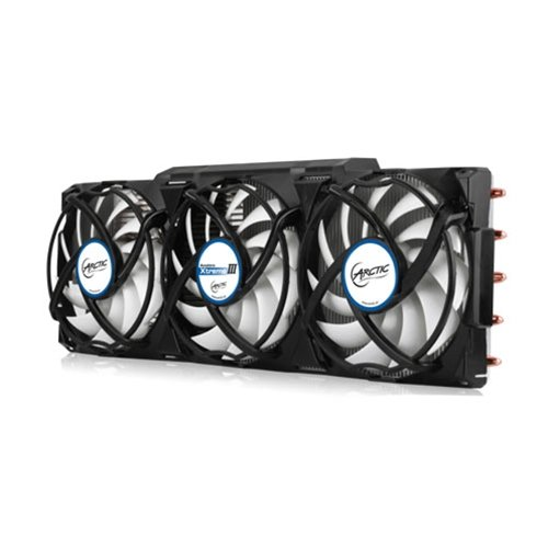 me III - High-End Graphics Card Cooler - nVidia & AMD, 3 Quiet 92mm PWM Fans, SLI/CrossFire. (Video Card Cooler Fan)