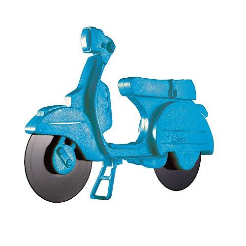 Eddingtons Blauwe Lambretta Scooter Pizza Cutter