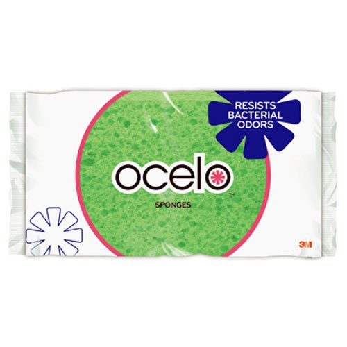 ocelo Handy Utility Kitchen Sponge, Assorted Colors, 1 sponge/pk, 6 packs (6 Sponges (Utility Sponges)
