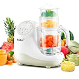 Baby Food Maker for Infants and Toddlers, Bable All in 1 Food Processor Mills Machine with Steam, Blend, Chop, Disinfect, Reheater, Grinder and Auto Cleaning, Touch Control Panel, Auto Shut-Off