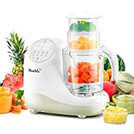 Baby Food Maker for Infants and Toddlers, Bable All-in-1 Food Processor Mills Machine with Steam, Blend, Chop, Sterilize, Warm Milk, Defrost, Grinder to Make Puree and Juice, Touch Control Panel, Auto