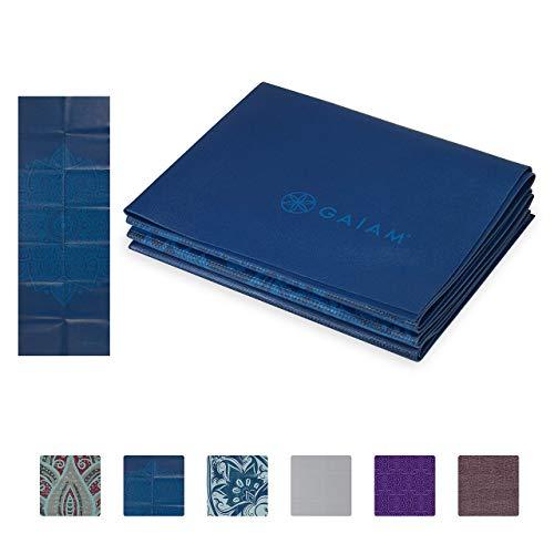 Gaiam Yoga Mat – Folding Travel Fitness & Exercise Mat – Foldable Yoga Mat for All Types of Yoga, Pilates & Floor…