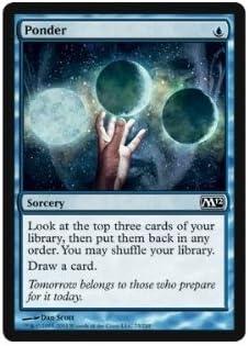 the Gathering Magic Magic 2012 by Magic Ponder the Gathering