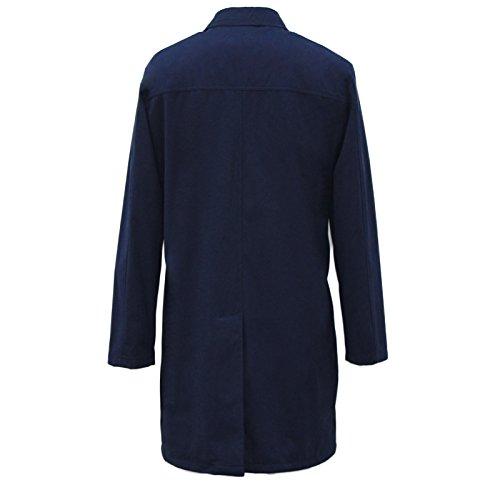 Hombre Azul BROWN Abrigo Marino HARRY 78E6xtW